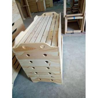 成安幼儿园幼儿木床