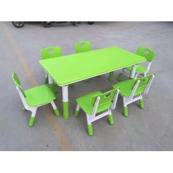 晋州幼儿园新款塑料桌椅