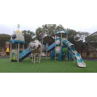 深泽幼儿园大型组合滑梯